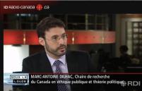 Entrevue Radio Canada