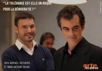 Emission Philosophie, avec Raphaël Enthoven