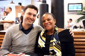 Rencontre avec Christiane Taubira, Garde des Sceaux