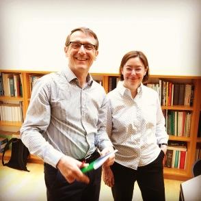 Luc Foisneau et Véronique Munoz-Dardé