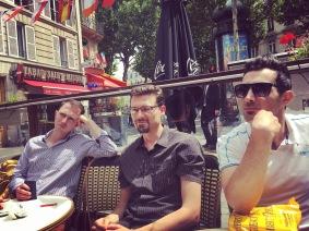 Pause café au soleil, Place Saint-Michel